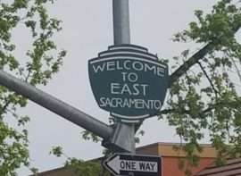 a street sign that says