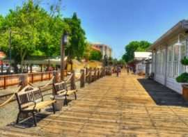 Therapists in old town Sacramento, California