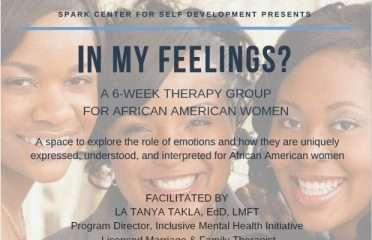 in my feelings group at spark therapy center