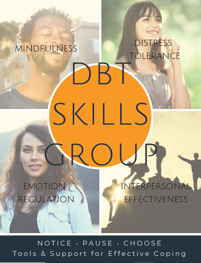 dbt therapy group flyer