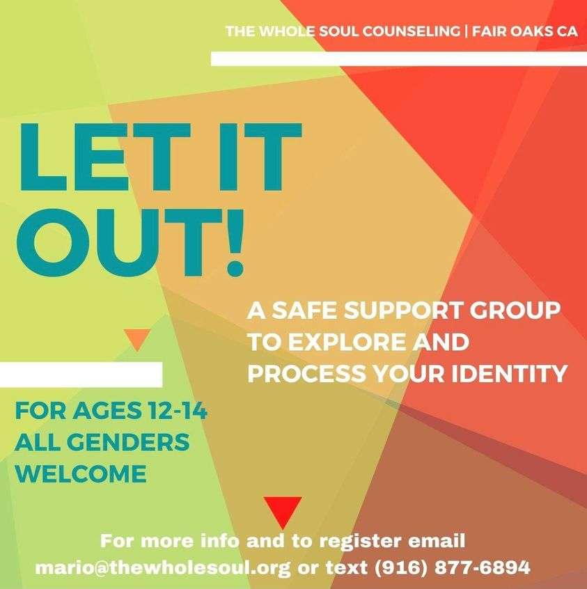 Let It Out! A summer teen group for exploring identity