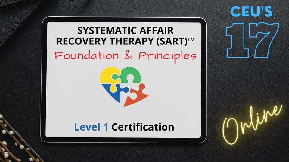 systemic affair recovery therapy training flyer