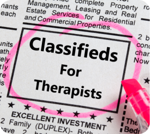 Classifieds For Therapists